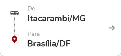 Itacarambi (MG) para Brasília (DF)