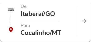 Itaberaí (GO) – Cocalinho (MT)