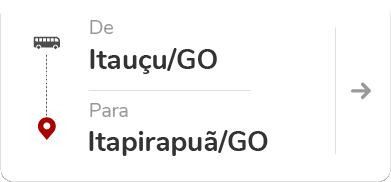 Itauçu GO - Itapirapuã GO