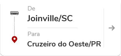 Joinville (SC) – Cruzeiro do Oeste (PR)