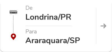 Londrina PR - Araraquara SP