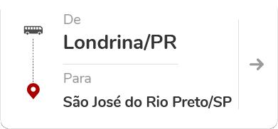 Londrina PR - São José do Rio Preto SP