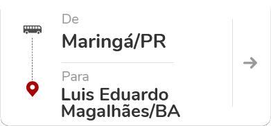 Maringá (PR) - Luis Eduardo Magalhães (BA)