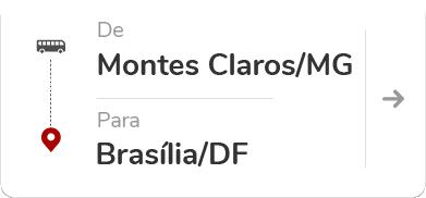 Montes Claros (MG) para Brasília (DF)