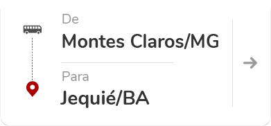 Montes Claros (MG) para Jequié (BA)