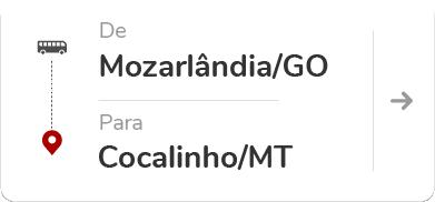 Mozarlândia (GO) – Cocalinho (MT)