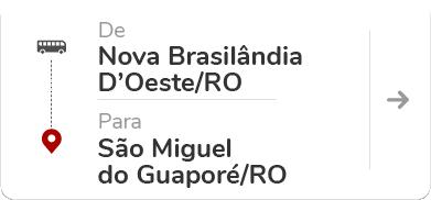 Nova Brasilândia D'Oeste (RO) - São Miguel do Guaporé (RO)