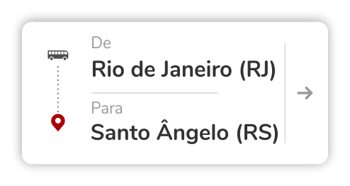 Rio de Janeiro (RJ) - Santo Ângelo (RS)