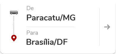 Paracatu (MG) para Brasília (DF)