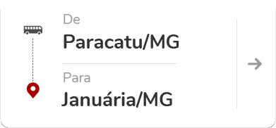 Paracatu (MG) para Januária (MG)