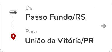 Passo Fundo RS - União da Vitória PR