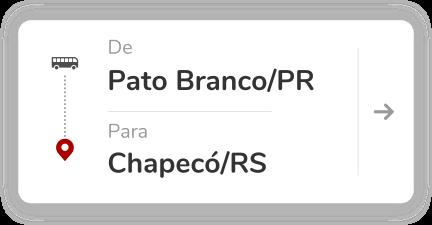Pato Branco PR - Chapeco SC