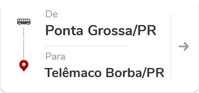 Ponta Grossa (PR) -Telêmaco Borba (PR)