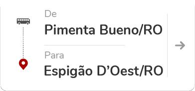 Pimenta Bueno (RO) – Espigão D'Oeste (RO)