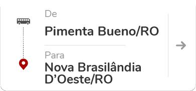 Pimenta Bueno RO - Nova Brasilândia D'Oeste RO