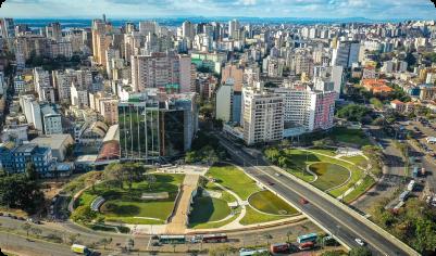 Florianópolis para Porto Alegre