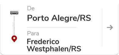 Porto Alegre RS - Frederico Westphalen RS