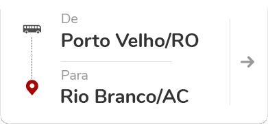 Porto Velho (RO) para Rio Branco (AC)