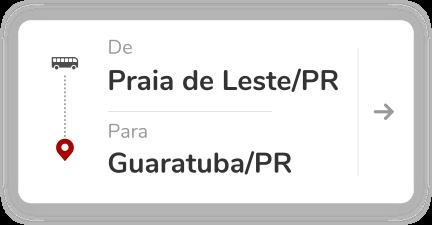 Praia de Leste-PR - Guaratuba PR