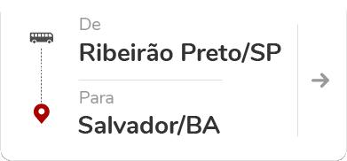 Ribeirão Preto (SP) para Salvador (BA)