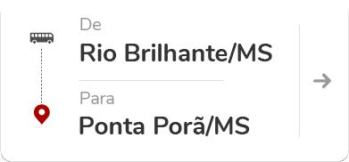 Rio Brilhante (MS) - Ponta Porã (MS)