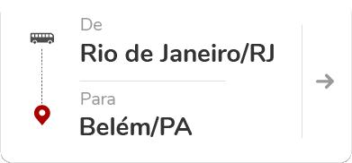 Rio de Janeiro (RJ) para Belém (PA)
