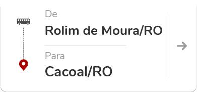 Rolim de Moura RO - Cacoal RO
