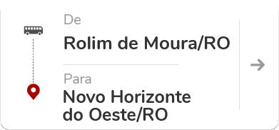 Rolim de Moura (RO) – Novo Horizonte do Oeste (RO)