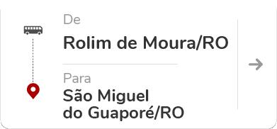 Rolim de Moura (RO) - São Miguel do Guaporé (RO)