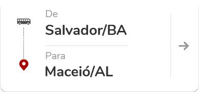 Salvador (BA) para Maceió (AL)