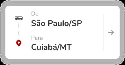 São Paulo SP - Cuiabá MT