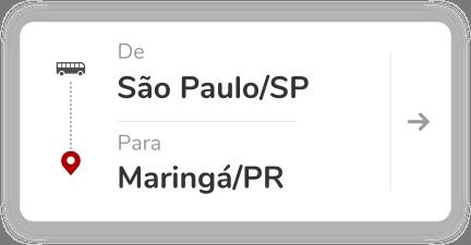 São Paulo SP - Maringá PR