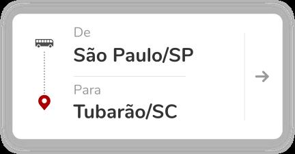 São Paulo SP - Tubarão SC