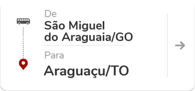 São Miguel do Araguaia (GO) – Araguaçu (TO)