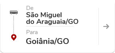 São Miguel do Araguaia (GO) – Goiânia (GO)