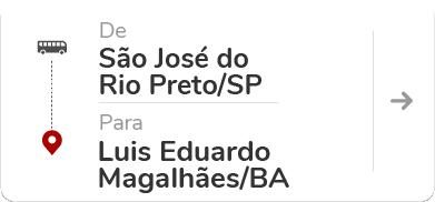 São José do Rio Preto (SP) - Luís Eduardo Magalhães (BA)