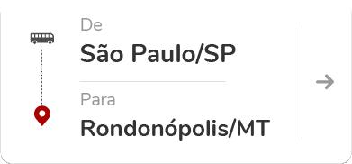 São Paulo/Barra Funda SP - Rondonópolis MT
