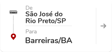 São José do Rio Preto SP - Barreiras BA