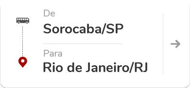 Sorocaba SP - Rio de Janeiro RJ