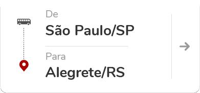 São Paulo Tietê (SP) – Alegrete (RS)