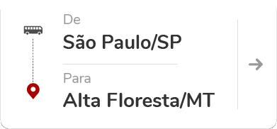 São Paulo/Barra Funda SP - Alta Floresta MT