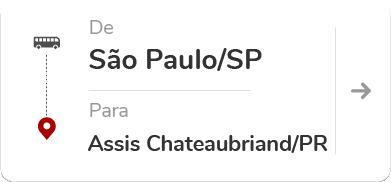 São Paulo SP - Assis Chateaubriand PR