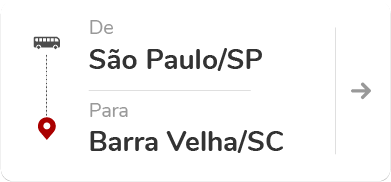 São Paulo Tietê (SP) - Barra Velha (SC)