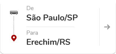 São Paulo SP - Erechim RS
