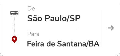 São Paulo - Tietê (SP) para Feira de Santana (BA)