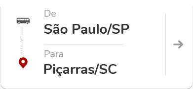 São Paulo Tietê (SP) – Piçarras (SC)