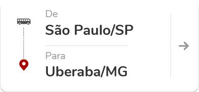 São Paulo SP - Uberaba MG