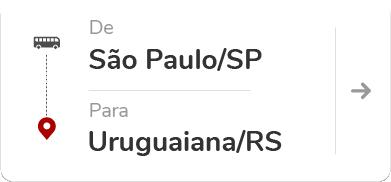 São Paulo Tietê (SP) - Uruguaiana (RS)