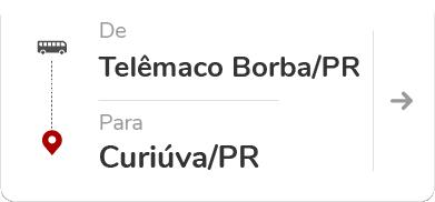 Telêmaco Borba PR - Curiúva PR