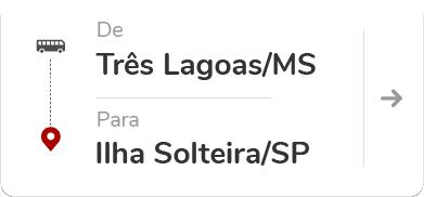 Três Lagoas (MS) - Ilha Solteira (SP)